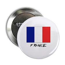 "France Flag 2.25"" Button"