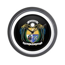 Coat of Arms of Nauru Wall Clock
