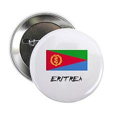 """Eritrea Flag 2.25"""" Button"""