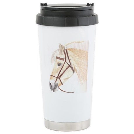 Horse Art Stainless Steel Travel Mug