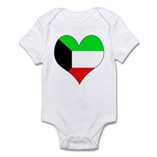 I Love kuwait Infant Bodysuit