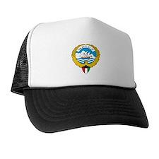 kuwait Coat of Arms Trucker Hat