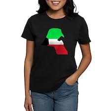 kuwait Flag Map Tee