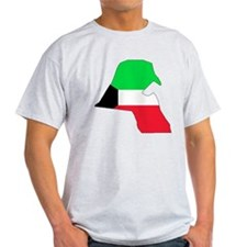 kuwait Flag Map T-Shirt