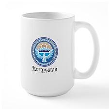 Kyrgyzstani Coat of Arms Seal Mug