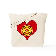 I Love Kyrgyzstan Tote Bag