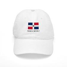 Dominican Republic Flag Baseball Cap