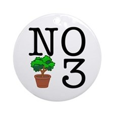 No Third Bush Ornament (Round)