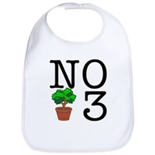 No Third Bush Bib