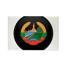 Coat of Arms of Laos Rectangle Magnet