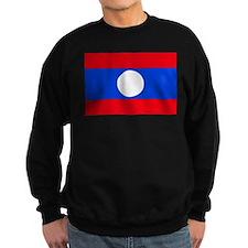 Laos Flag Sweatshirt