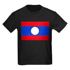 Laos Flag T