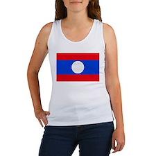 Laos Flag Women's Tank Top