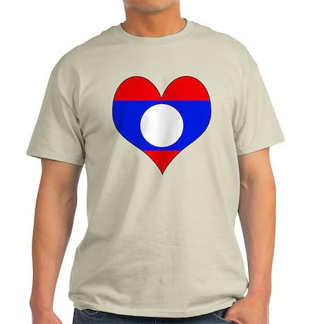 I Love Laos Light T-Shirt