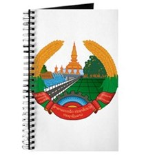 Laos Coat of Arms Journal