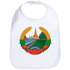 Laos Coat of Arms Bib