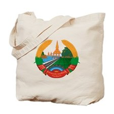 Laos Coat of Arms Tote Bag