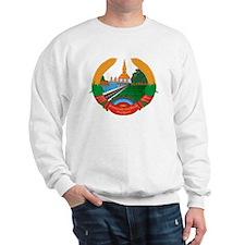 Laos Coat of Arms Sweatshirt