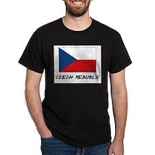 Czech Rebublic Flag T-Shirt