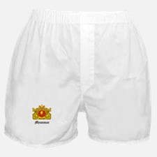 Burma Coat of Arms Seal Boxer Shorts