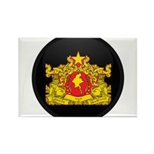 Coat of Arms of myanmar Rectangle Magnet