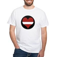 I love Latvia Flag Shirt