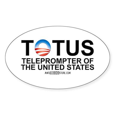 TOTUS Oval Sticker