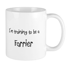 I'm training to be a Farrier Mug