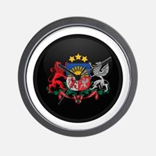 Coat of Arms of Latvia Wall Clock