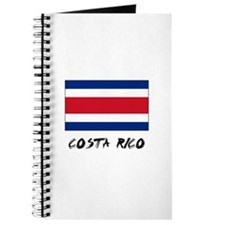 Costa Rico Flag Journal