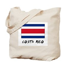 Costa Rico Flag Tote Bag