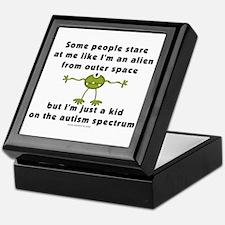 Autism Alien Keepsake Box