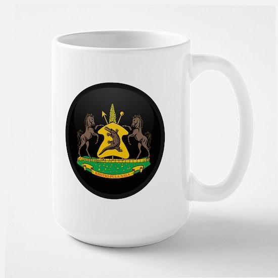 Coat of Arms of lesotho Large Mug
