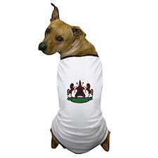 lesotho Coat of Arms Dog T-Shirt