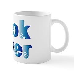 Cool Blue Reader Mug