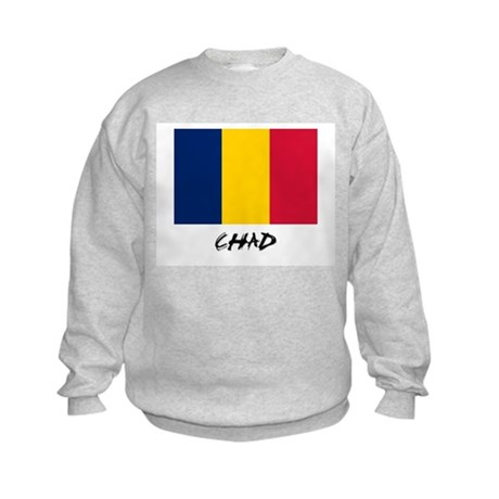 Chad Flag Kids Sweatshirt