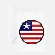 LIBERIA Greeting Card