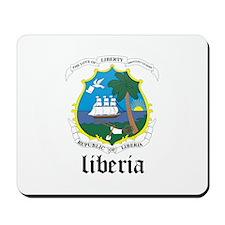 Liberian Coat of Arms Seal Mousepad