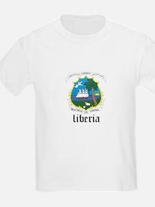 Liberian Coat of Arms Seal T-Shirt