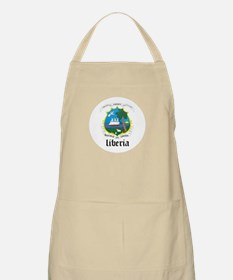 Liberian Coat of Arms Seal BBQ Apron