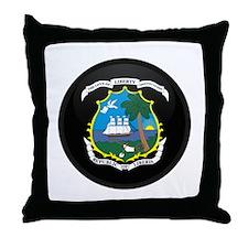 Coat of Arms of LIBERIA Throw Pillow