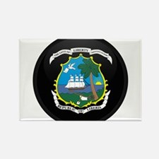 Coat of Arms of LIBERIA Rectangle Magnet