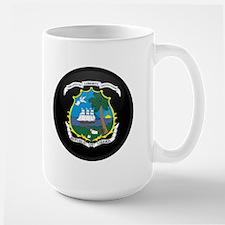 Coat of Arms of LIBERIA Large Mug