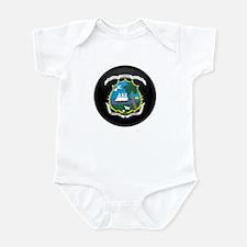 Coat of Arms of LIBERIA Infant Bodysuit