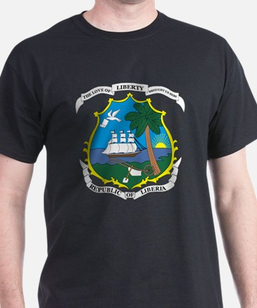 LIBERIA Coat of Arms T-Shirt