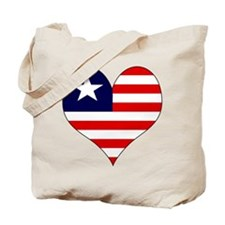 I Love LIBERIA Tote Bag