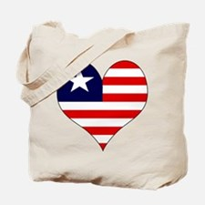 I Love LIBERIA Tote Bag