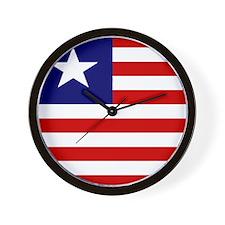 Liberian Wall Clock
