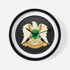 Coat of Arms of Libya Wall Clock