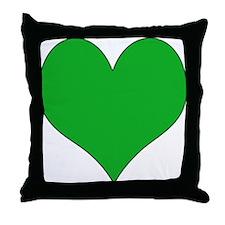 I Love Libya Throw Pillow